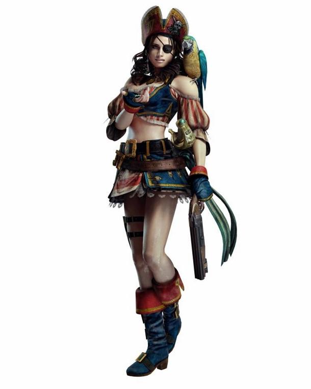 Jill Valentine Pirate Costume