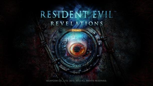 Resident Evil Revelations Demo